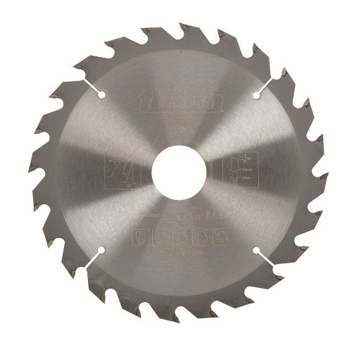 Triton 702531 Construction Saw Blade 165mm x 30mm 24 Teeth